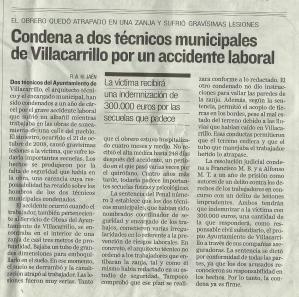 Sentencia en un Ayuntamiento de la provincia de Jaen, en materia de Prevencion de Riesgos Laborales